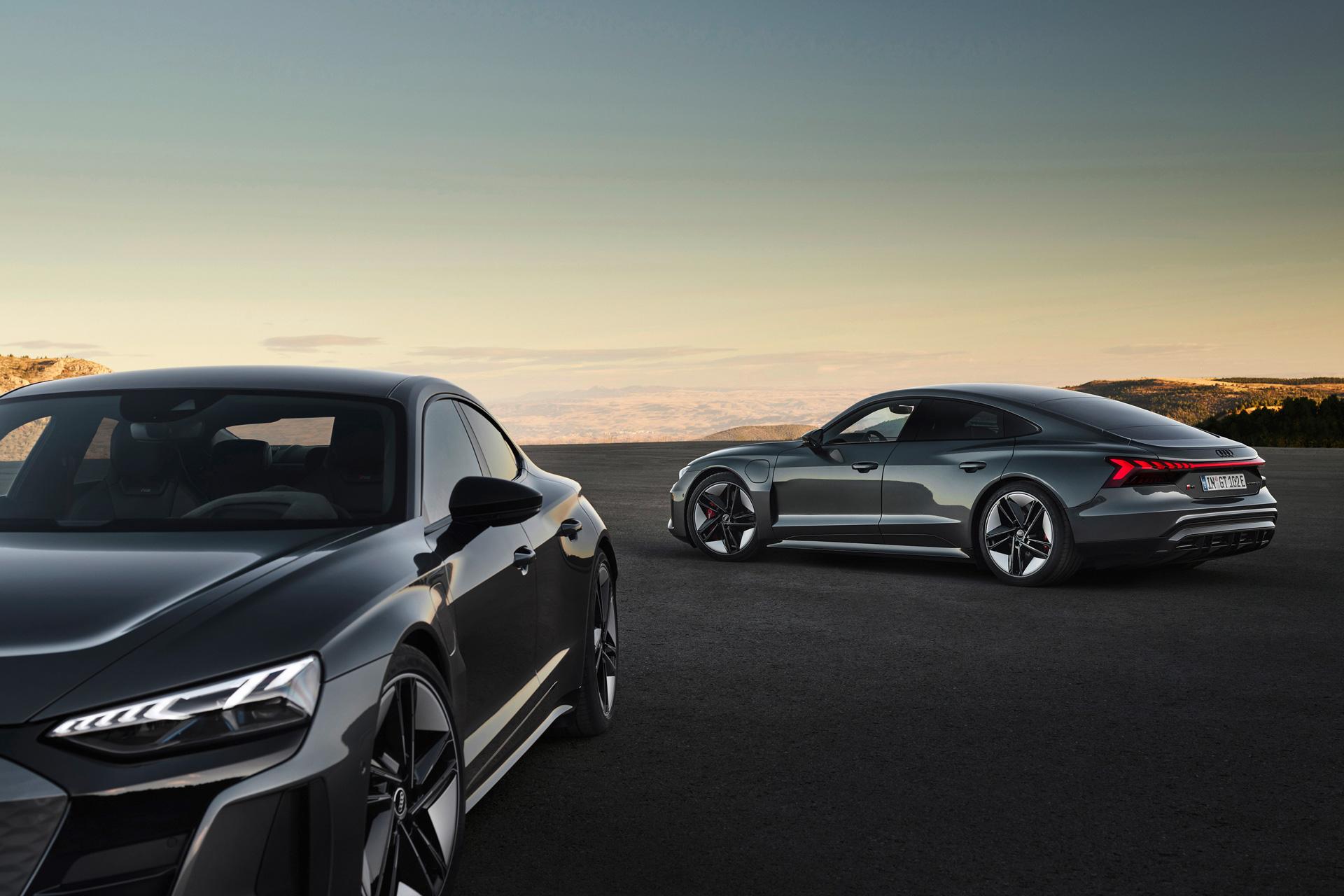 Audi e-tron GT Nya elbilar 2022