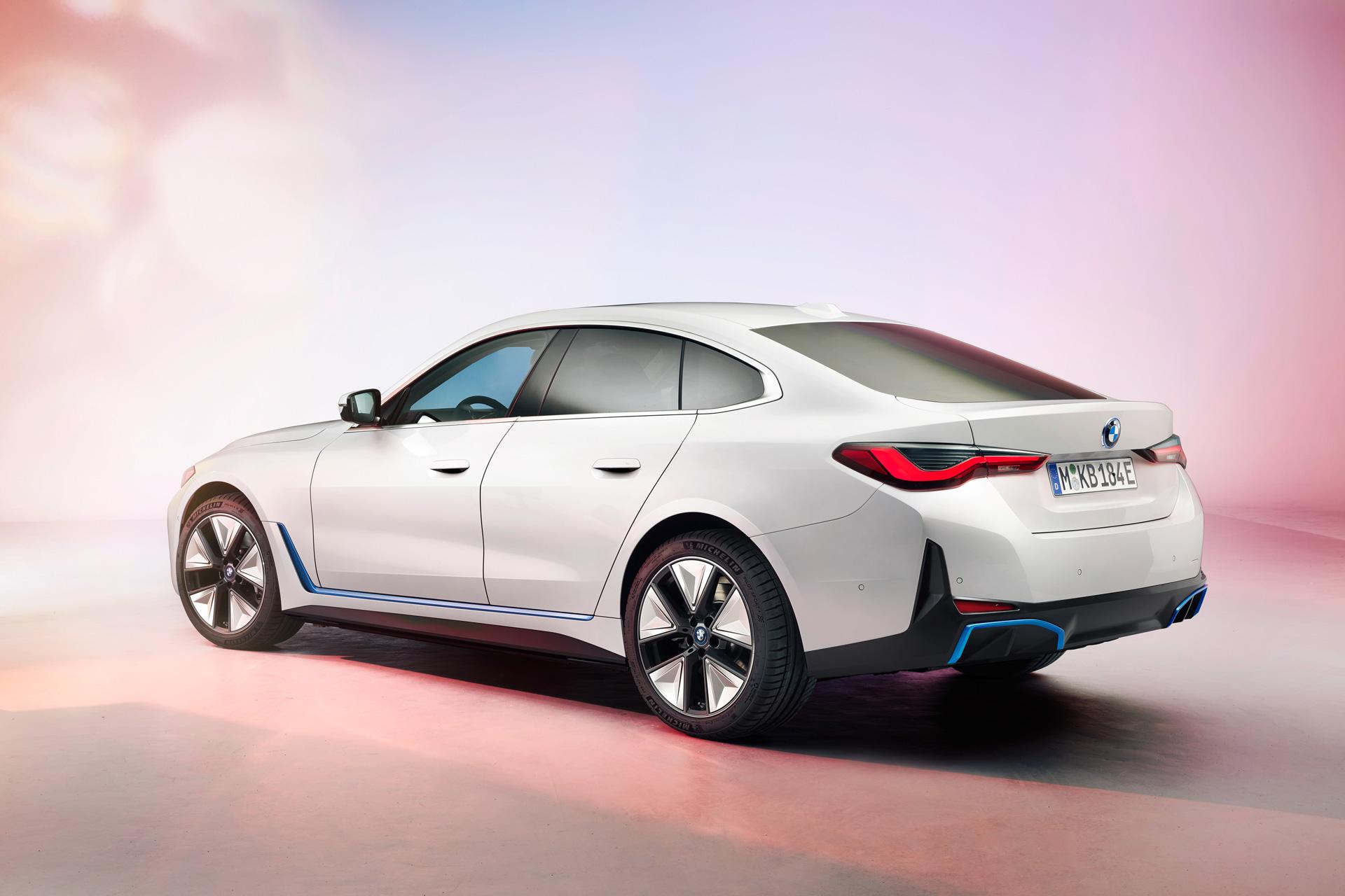BMW i4 kommande elbil 2022