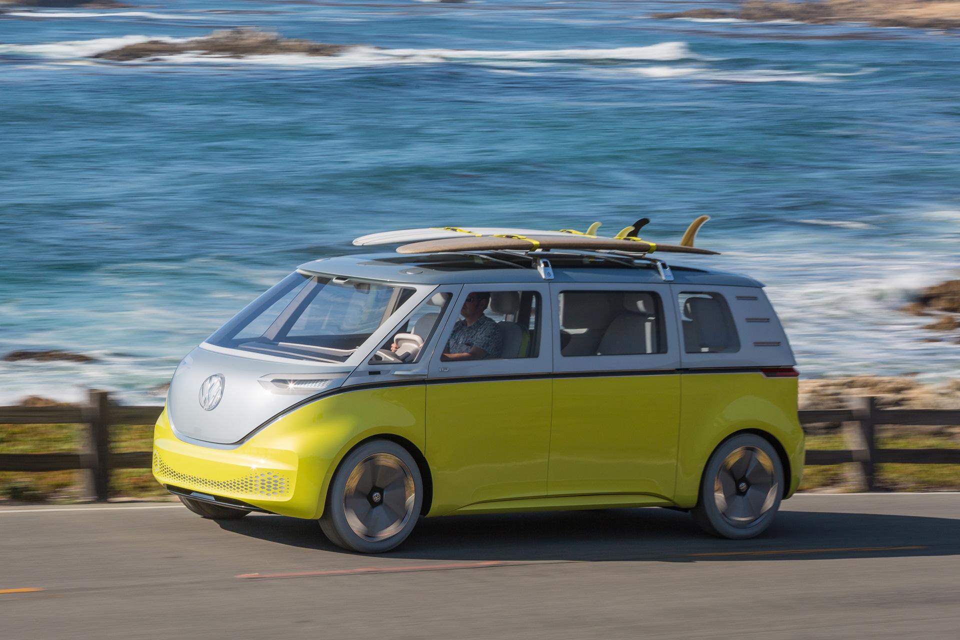 Volkswagen ID.BUZZ Nya Elbilar 2022