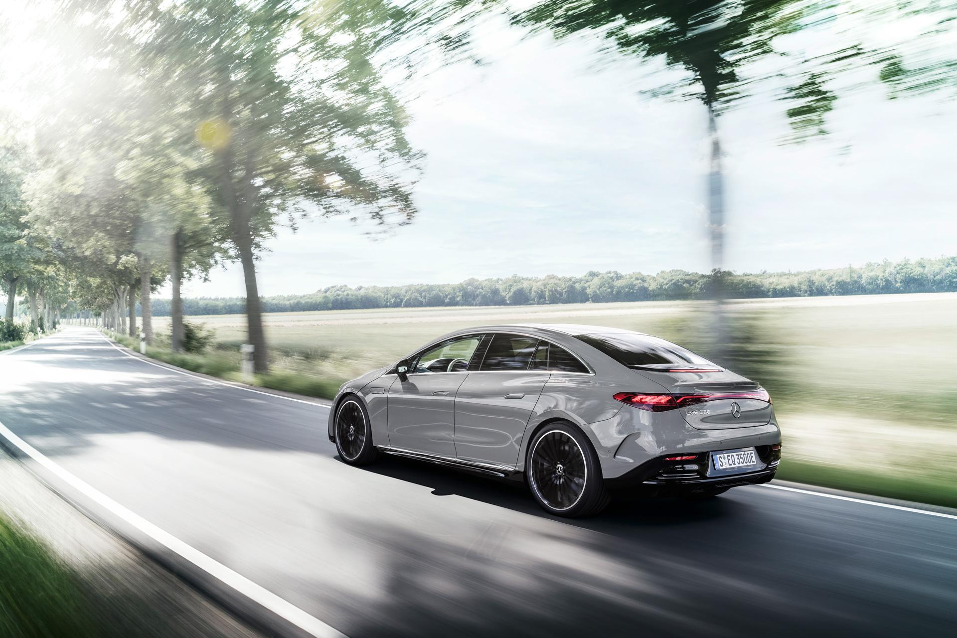 Mercedes-Benz EQE Nya elbilar 2022